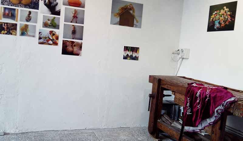 Installation view mostra Katia Canton
